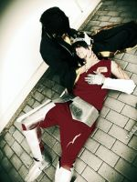 The Lost Canvas  Hades and Tenma BY The SC Cosplay by theSCcosplay