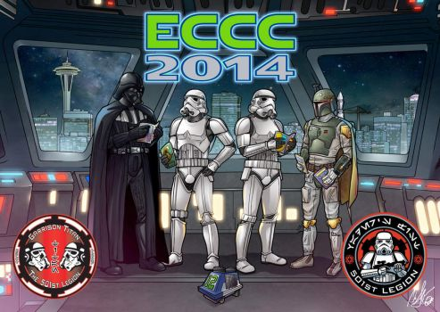 Emerald City Comic Con Illustration for the 501st by ArtDevil313