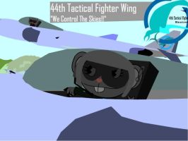 44th Tactical Fighter Squadron by Yudhaikeledai