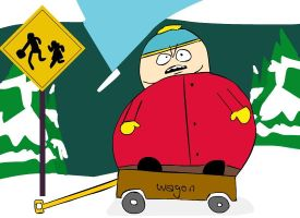 Cartman colored by Space-Walk