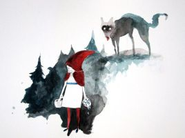 Day 6: Red Riding Hood by StephHolmes