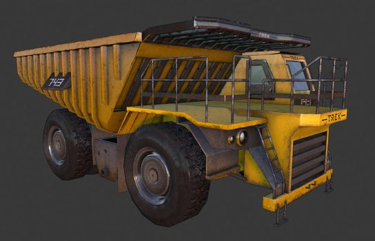 Dump Truck by JustinMs66