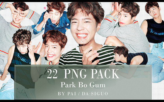 Park Bo Gum PNG PACK #22 by Pai by Siguo