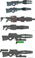 Military Weapon Variants 24 by Marksman104