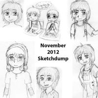 Sketch dump Nov 2012 by StefanPWinc
