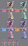 Scout pixel sprites by oh8