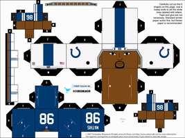 Robert Mathis Colts Cubee by etchings13