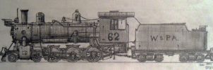W and PA 4-6-0 by simulatortrain