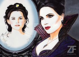 Evil Queen Snow White by Francesca Benevento by ZiaFranny