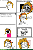 Mah rage comic by WarriorCheetah