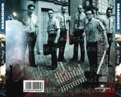 Rammstein back cover by Zigfil