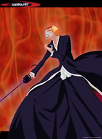 Hollow Ichigo by Icewolf87