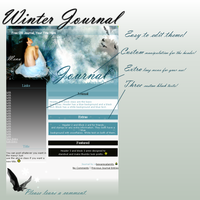 Winter Journal CSS by buffydoesbroadcast