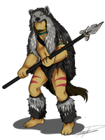 Wolf Warrior Kei by GingerQuin