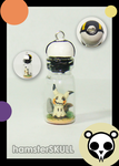 Mimikyu Miniature Bottle Necklace by hamsterSKULL