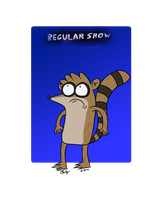 Regular Show - Rigby by AmeliaWolfe