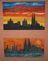cologne dome at my walls by ingeline-art