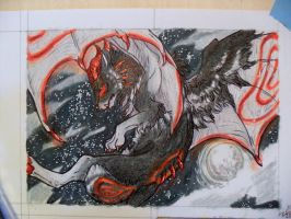 ACEO: Stars for Thoughts by Aminirus