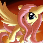 Flutterponi and red by Greeny-Nyte
