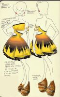 Pikachu: Pokedress 025 by 29CentPens