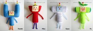 Katamari Cousins set III by whitefrosty