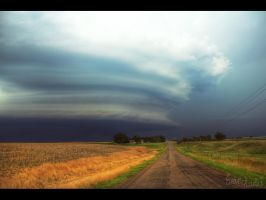 Mesocyclone Road by FramedByNature