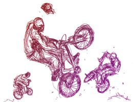 BMX sketch by Tohad