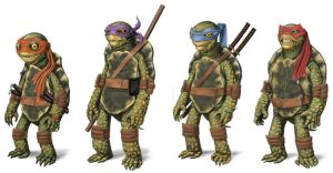 Ninja Turtles by robnix