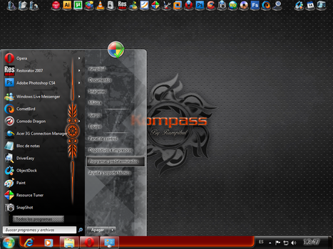 Kompass - Windows 7 VS by rumpibul
