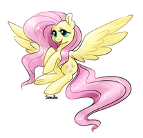 Michael Morones Recovery Fund - Fluttershy by peachiekeenie
