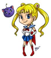 Sailor Moon by Norm27
