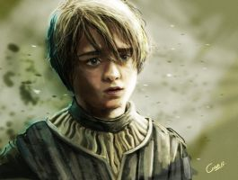 Arya by ginoleart