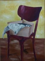 Chair, what else to say? :D by JaneBroucil