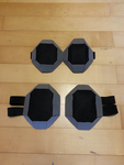 Virtua Cop Elbow And Knee Guards by StealthNinja5