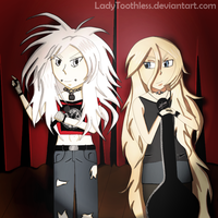 [Gift] Rockstars by LadyToothless