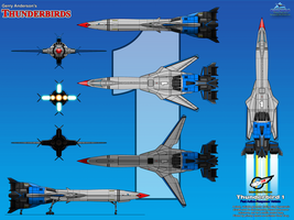 Thunderbird 1 - Fast Response Craft by haryopanji