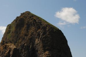 The Great Haystack Rock by SachiyeKazumi