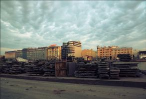 Saint Petersburg 5 a.m. by Morskaya-aka-Umino