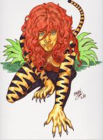 Tigra colored by CoonDog69