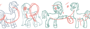 The Lunars LotP/MLP Crossover WIP by Lady-Ri