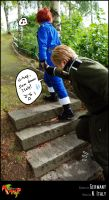 APH-cosplay: SLOW DOWN D8 by Kumagorochan
