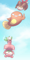 Falling by chibiphlosion