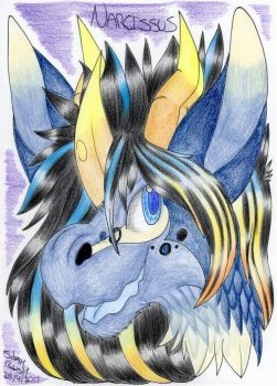 Art Trade: Narcissus by Silvah-Rush