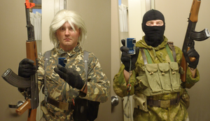 Metal Gear Russian Soldiers cosplay WIP by Scarlet-Impaler