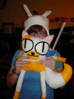 Part 2 of Halloween as Fionna the Human by InceptionErection