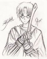 Harry Potter by ashenXnight