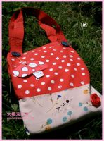 Toadstoolie bag by kasatchi