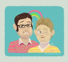 tim and eric 2 by tinysnail