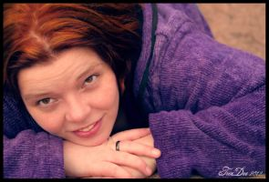 portrait of my love by absinthalicious
