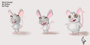 some mouse concept by ibrahx